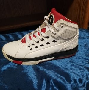 White,black and red 2015 Jordans